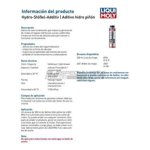 Hydro-Stössel-Additiv 300 ml
