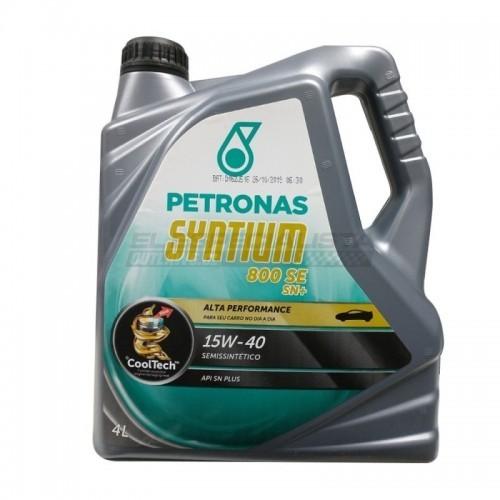 PETRONAS Syntium 800 SE SN + 15W40 4 lt