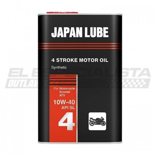 JAPAN LUBE MOTO 10W40 FANFARO SIN API SL 1lt