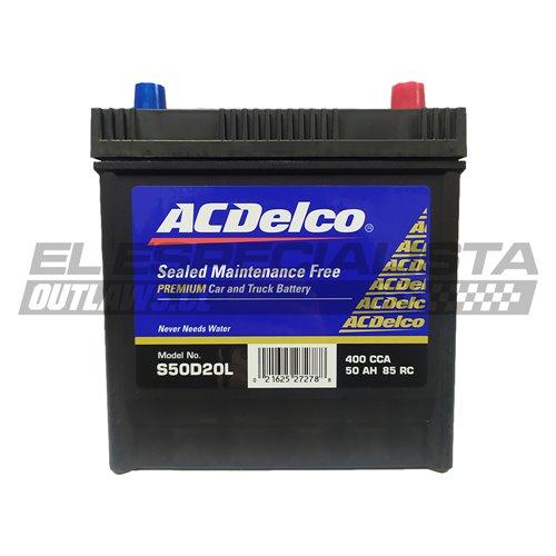 Bateria ACDelco 50 Ah - derecho