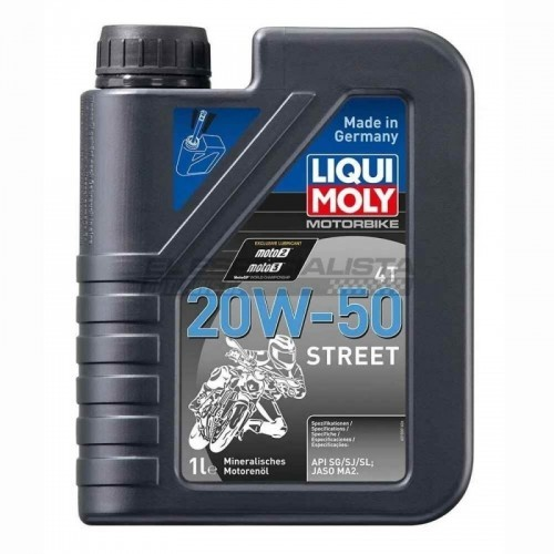Motorbike 4T 20W-50 Street 1 lt